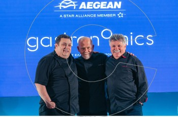 Η AEGEAN φέρνει κοντά κορυφαίους εκφραστές της ελληνικής γαστρονομίας και ταξιδεύει τις συνταγές τους σε όλο τον κόσμο