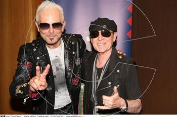 Oι Scorpions στην Αθήνα: συνέντευξη τύπου για την καλοκαιρινή τους συναυλία στο Καλλιμάρμαρο