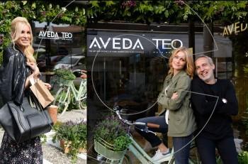 Εγκαίνια για το πρώτο Aveda-Teo κομμωτήριο στην Ελλάδα