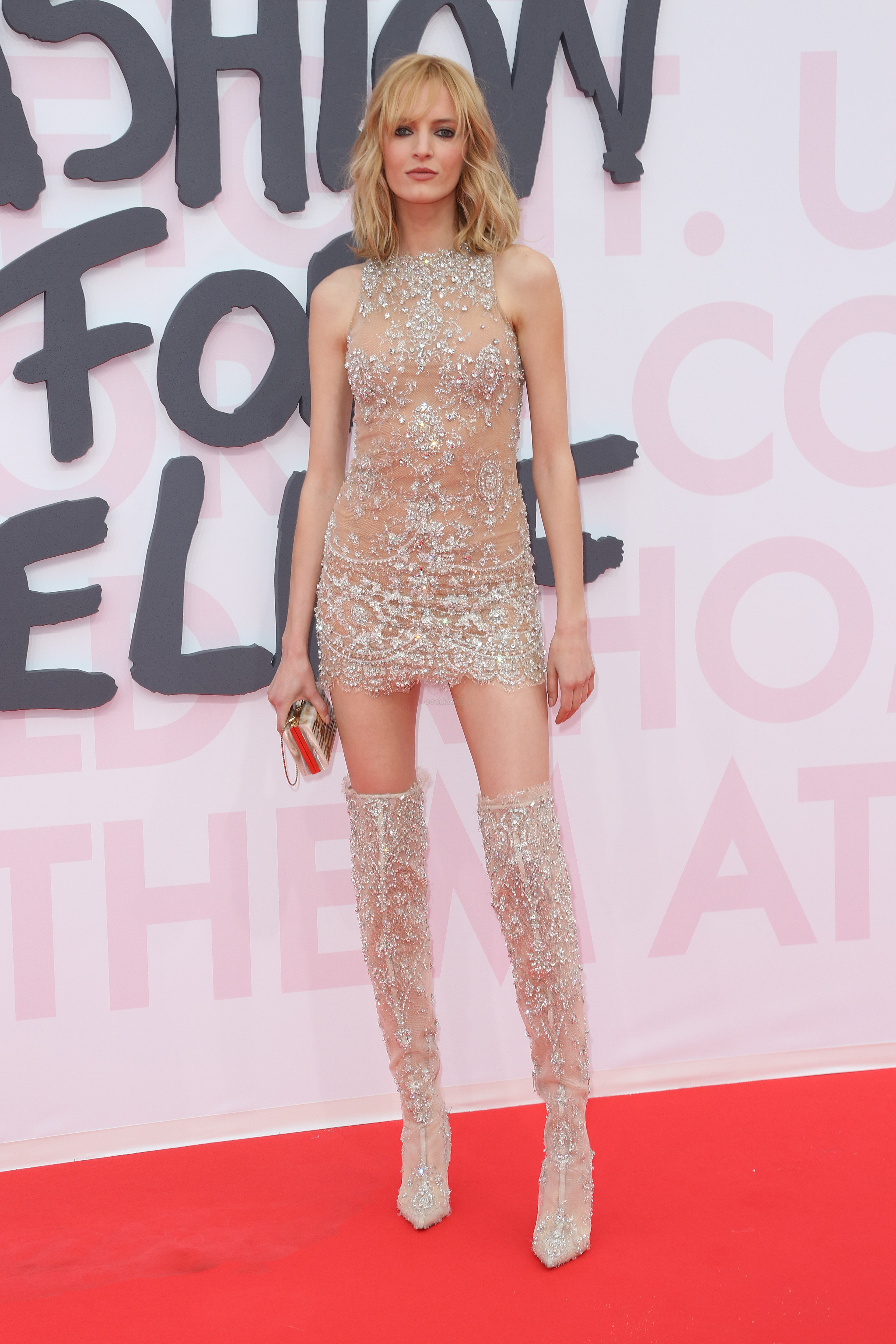 DARIA STROUKOS Red Carpet Arrivals - Fashion For Relief Cannes 2018 CANNES, FRANCE - MAY 13: during the 71st annual Cannes Film Festival at Aeroport Cannes Mandelieu on May 13, 2018 in Cannes