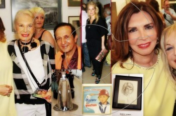 100 Έλληνες ηθοποιοί σε ένα διαφορετικό ρόλο: εγκαίνια της έκθεσης @MegArt Gallery
