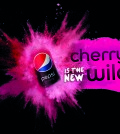 Pepsi Wild Cherry visual