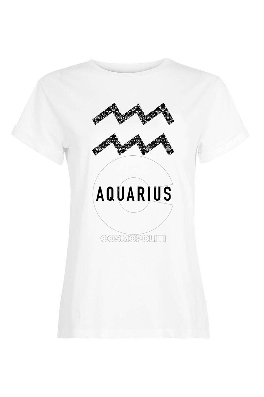 SILVIAN HEACH_t-shirt Astral Heach ACQUARIUS