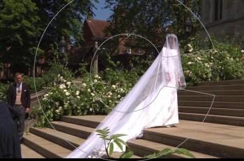 Η εντυπωσιακή νύφη Meghan Markle