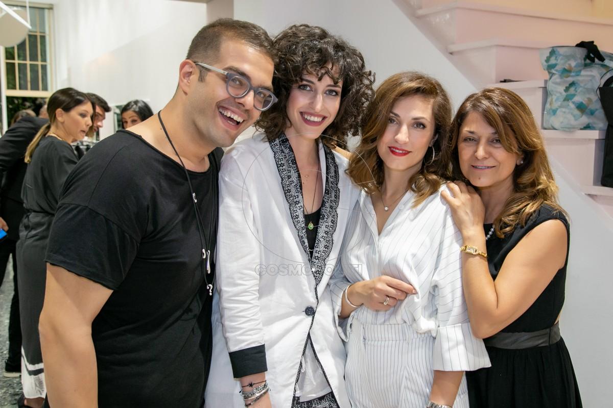 20 Νίκος Ευθυμιάδης, Περσεφόνη Στρίβα, Τάνια & Γεωργία Παπαδοπούλου του 4tailors