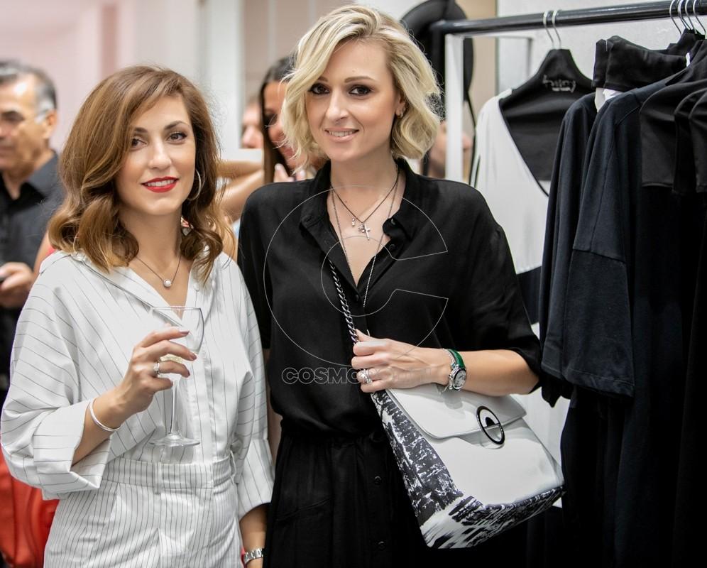 4 Η Τάνια Παπαδοπούλου του 4tailors με τη Χριστίνα Μαλλέ