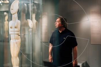 O George Condo στο Μουσείο Κυκλαδικής Τέχνης