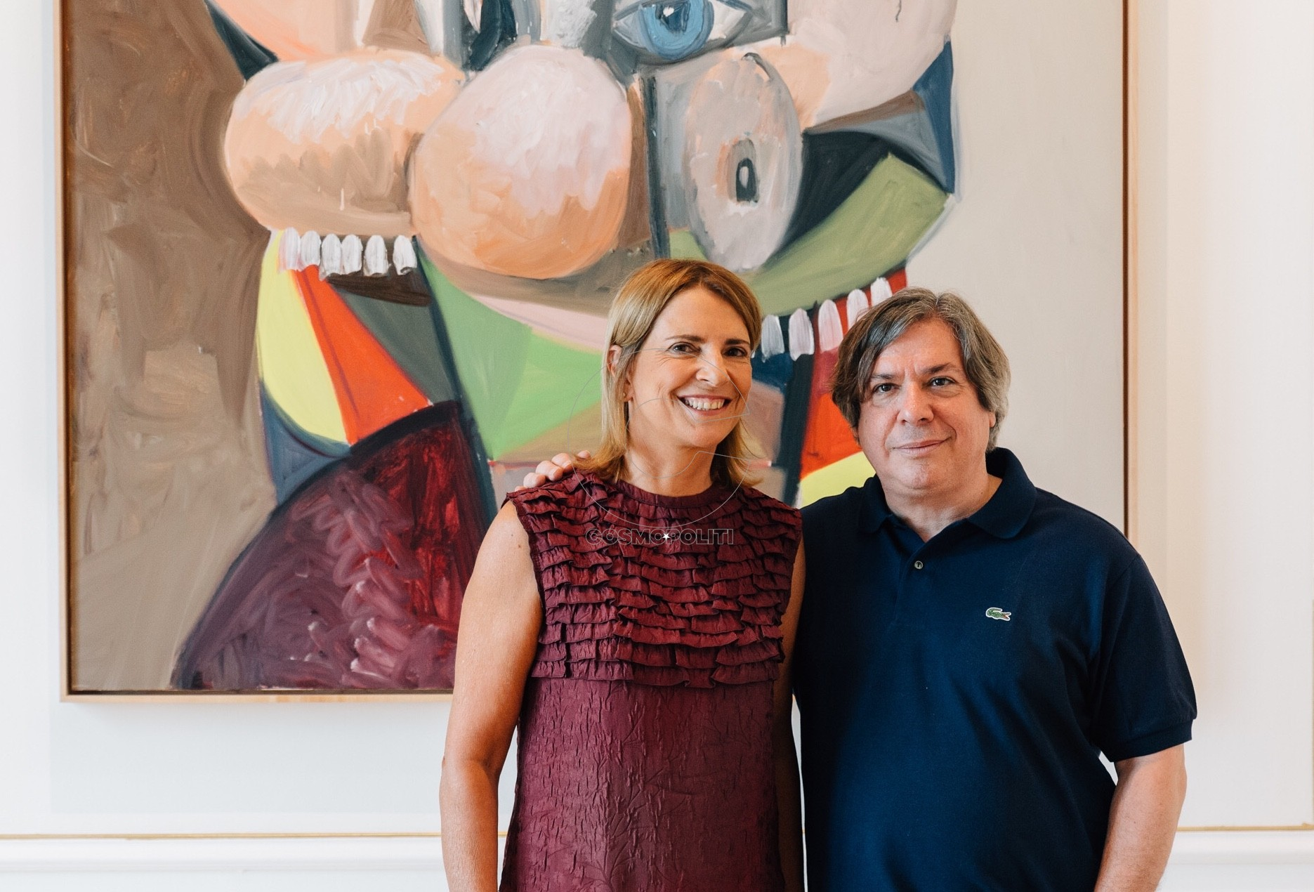 6. George Condo_Sandra Marinopoulou_ Photo Paris Tavitian