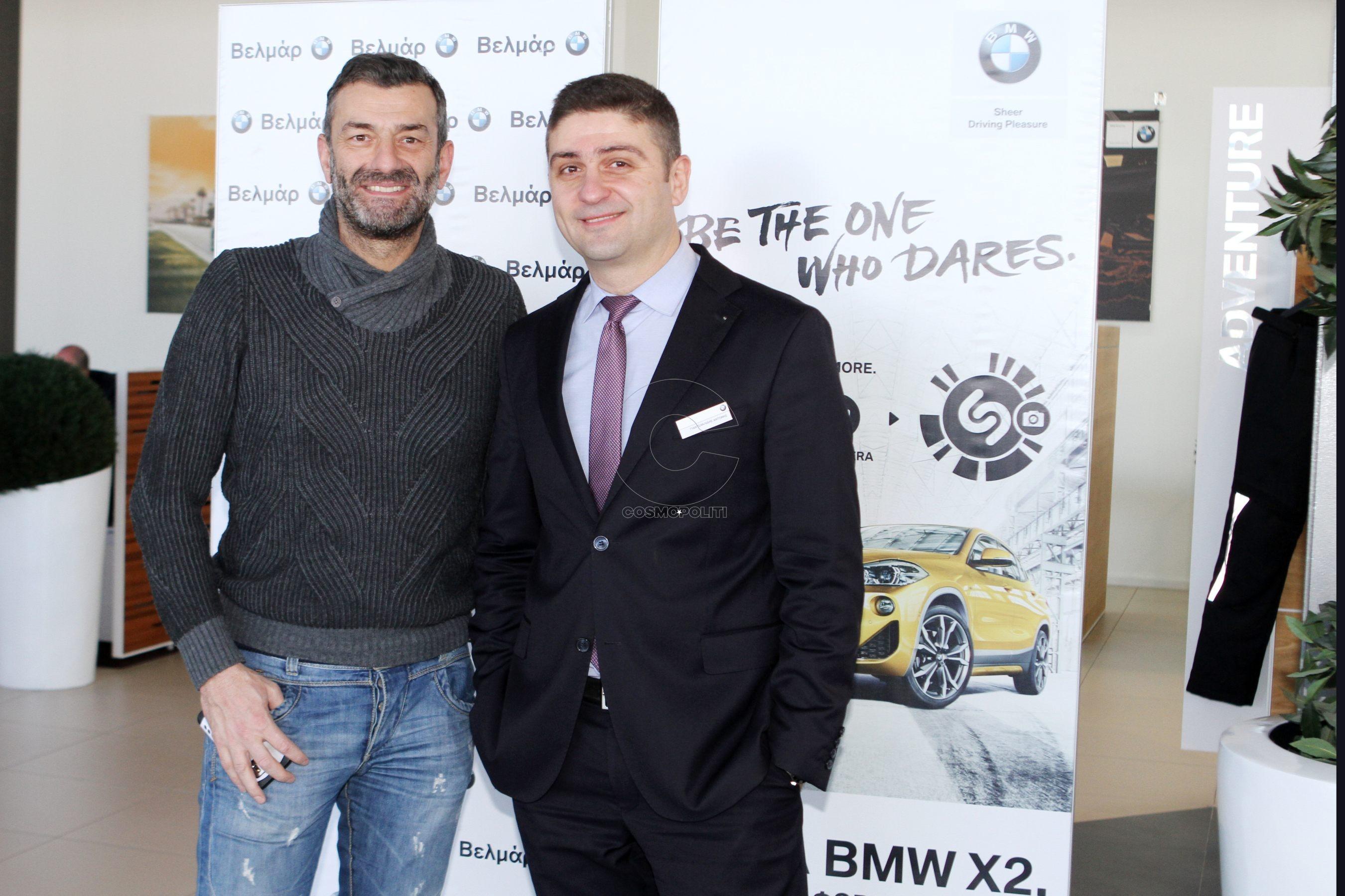 72 Ο Γιάννης Βασιλειάδης με τον Αντώνη Γιαντσακλίδη της BMW Βελμάρ