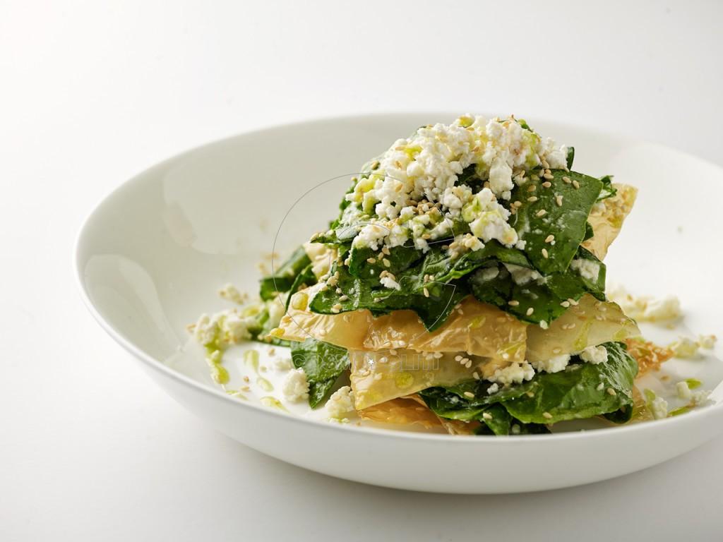 Spinach pie (salad) (2)
