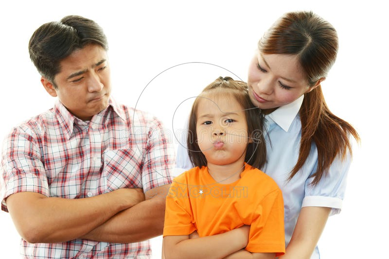 angry-family-isolated-white-background-37473761