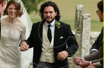 """Να ζήσουν! Σκωτσέζικος γάμος για τους Kit Harington & Rose Leslie από το """"Game of Thrones"""""""