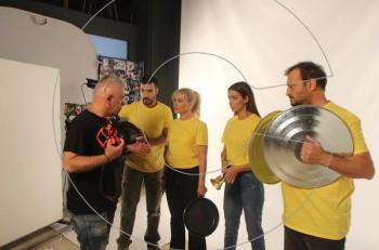 Kάνουμε θόρυβο για μια αθόρυβη νόσο: backstage υλικό από τη φωτογράφηση και το γύρισμα του spot