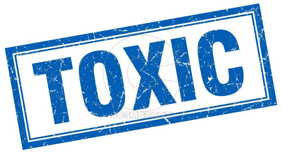45593954 - toxic blue square grunge stamp on white