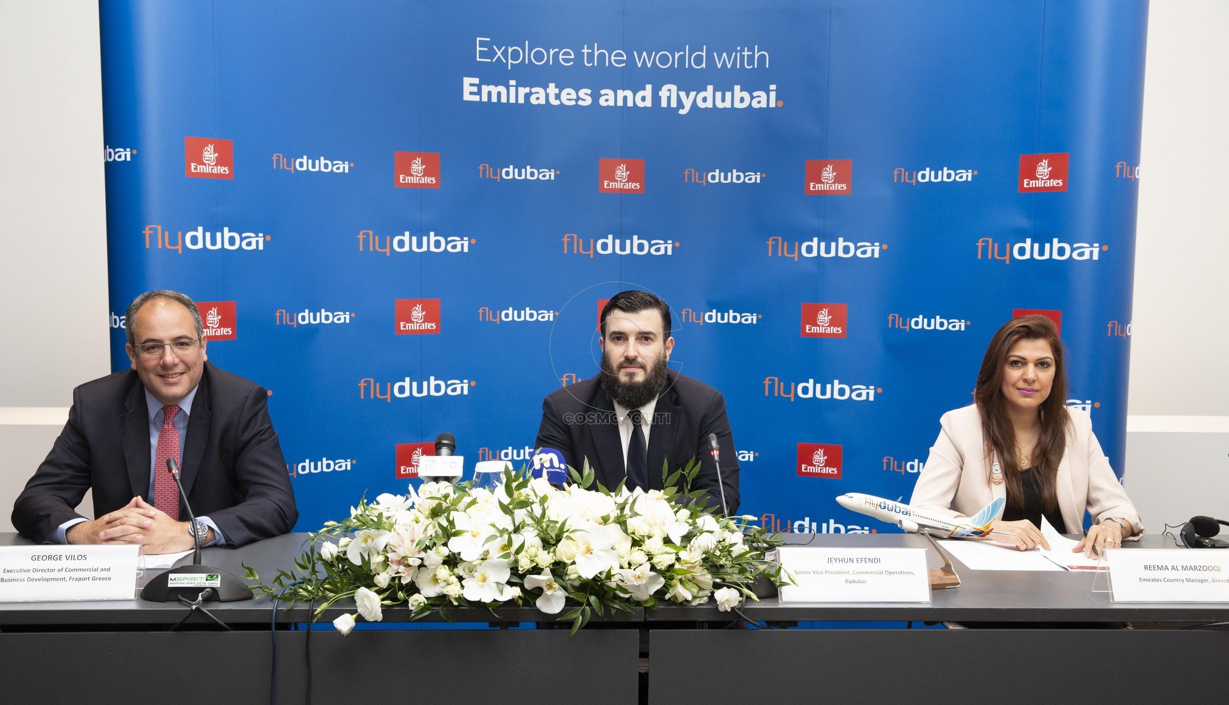 185 Γιώργος Βήλος της Fraport, Reema Al Marzooqi της Emirates & Jeyhun Efendi της flydubai (2)
