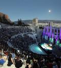 Το κατάμεστο από κόσμο Ηρώδειο κατά την διάρκεια της συναυλίας που έδωσε η αντισυμβατική μουσικός και ποιήτρια Πάτι Σμιθ, το Σάββατο 22 Ιουνίου 2013. ΑΠΕ ΜΠΕ/ΑΠΕ ΜΠΕ/ΧΑΡΗΣ ΑΚΡΙΒΙΑΔΗΣ