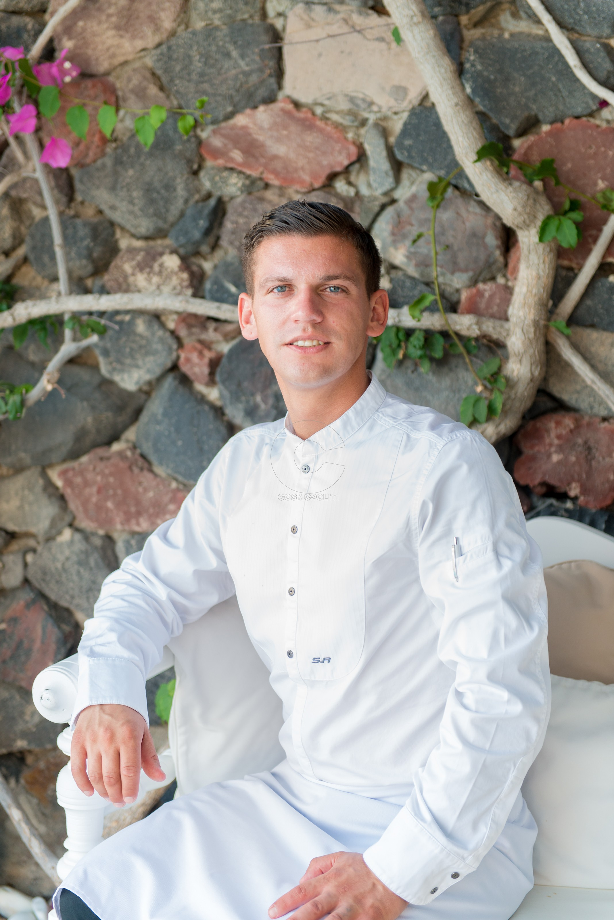 Chef Alexandros Koskinas for Canaves-Oia Suites