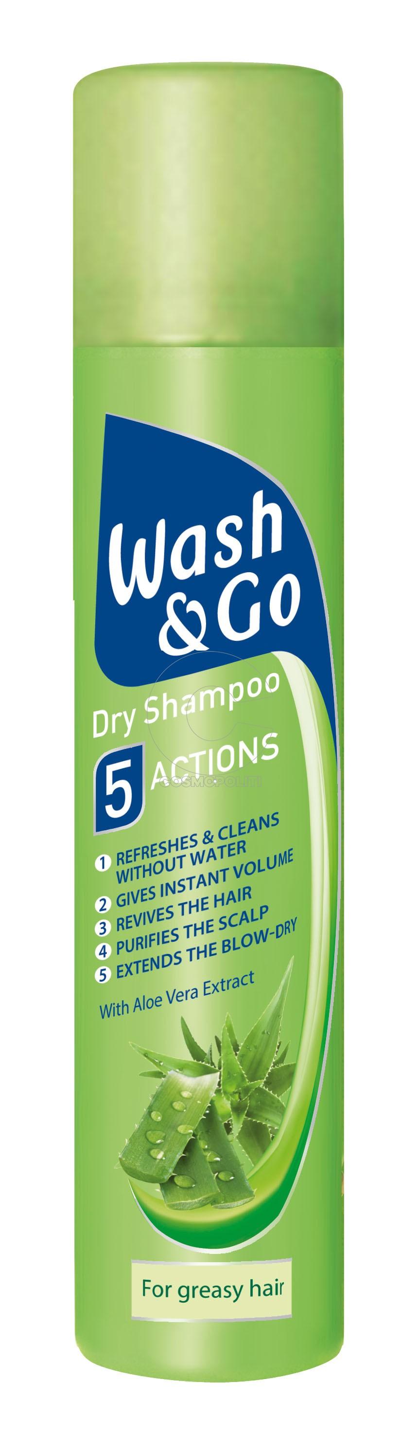 Wash&Go Dry Shampoo Aloe