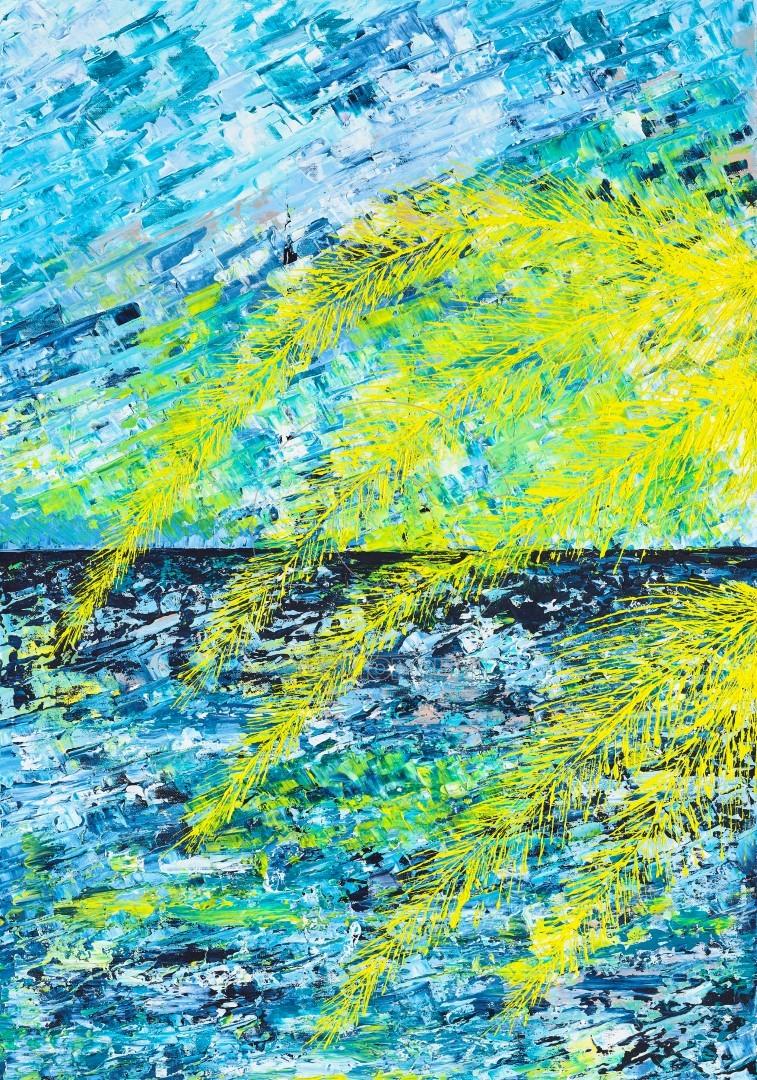 Ελένη Σαμέλη Βαρουξάκη , Tropical Serenity (Large)