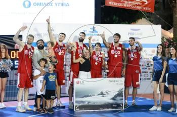 Ολοκληρώθηκε με επιτυχία το 3ο LG AegeanBall Festival στη Σύρο