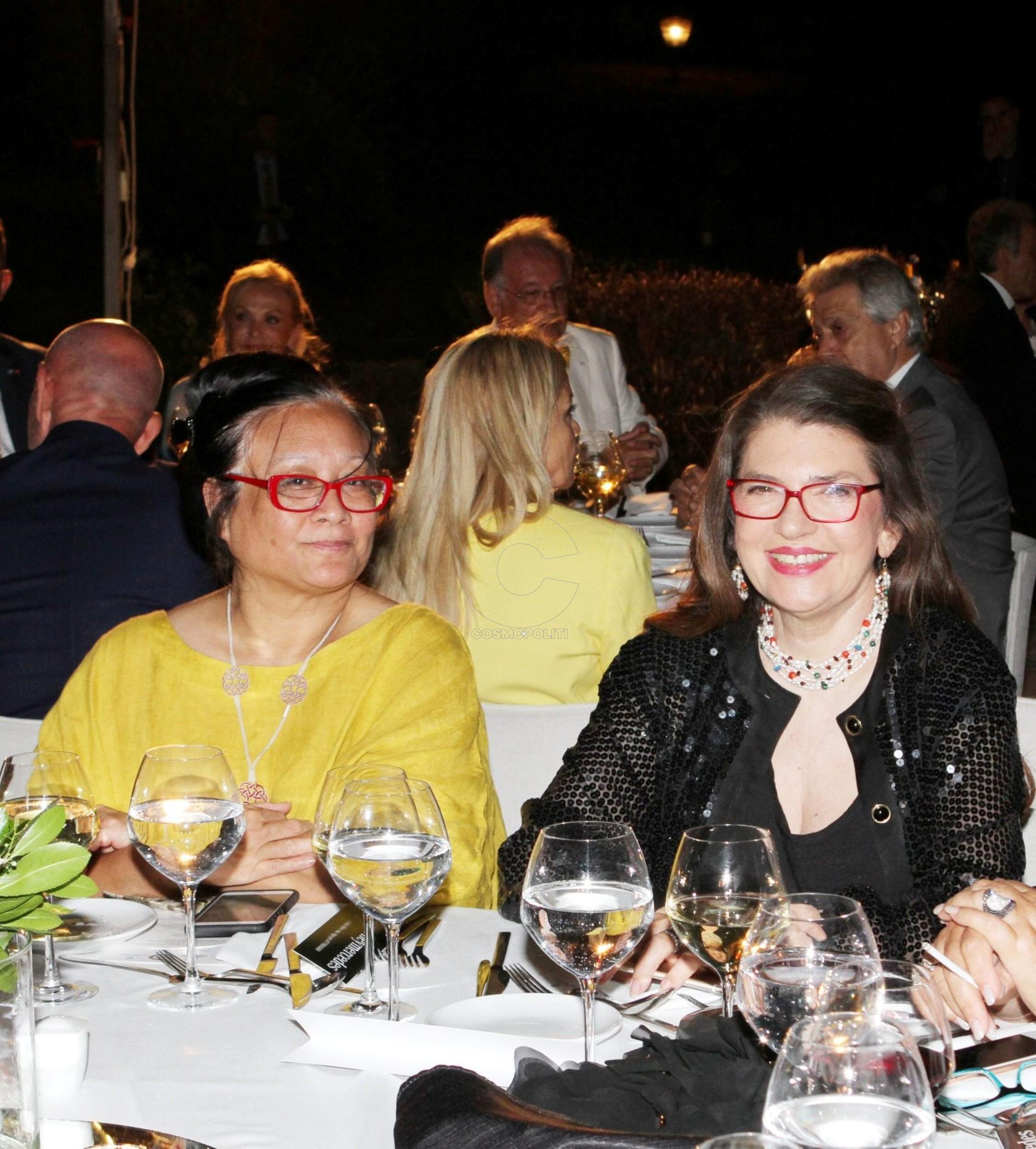 9 Η Πρόξενος Αμερικής Rebecca Fong με την Πρόξενο Πορτογαλίας Αίνη Μιχαηλίδου