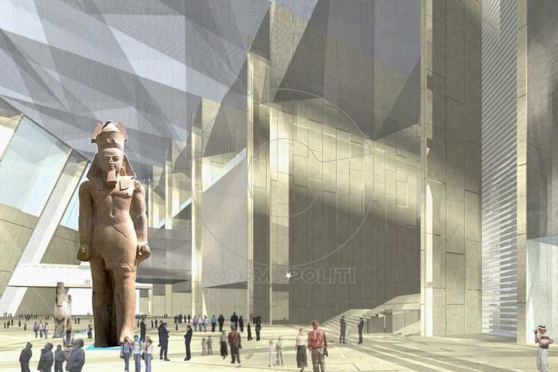 Grand-Egyptian-Museum-statue