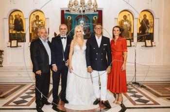 Γάμος και βάφτιση με κουμπάρο τον Γιώργο Ντάβλα