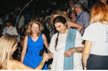 Η Λυδία Κονιόρδου Πρόεδρος στο Κέντρο Πολιτισμού Ίδρυμα Σταύρος Νιάρχος