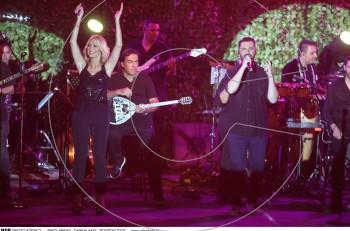 Νατάσα Θεοδωρίδου & Γιώργος Παπαδόπουλος: το αδιαχώρητο στη συναυλία τους στο Κηποθέατρο Παπάγου