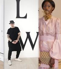 Celebrity skin show at london fashion week