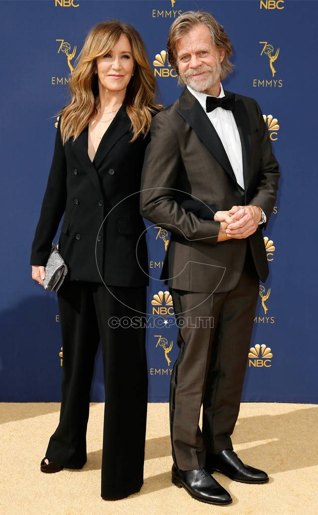 Felicity Huffman and William Macy