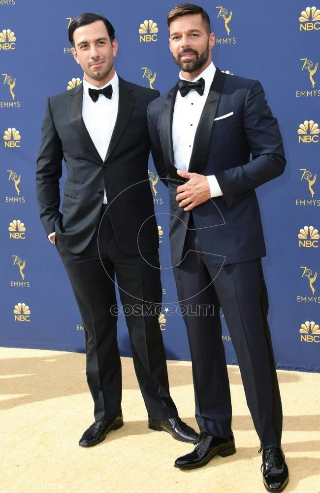 Ricky Martin and his husband Jwan Yosef