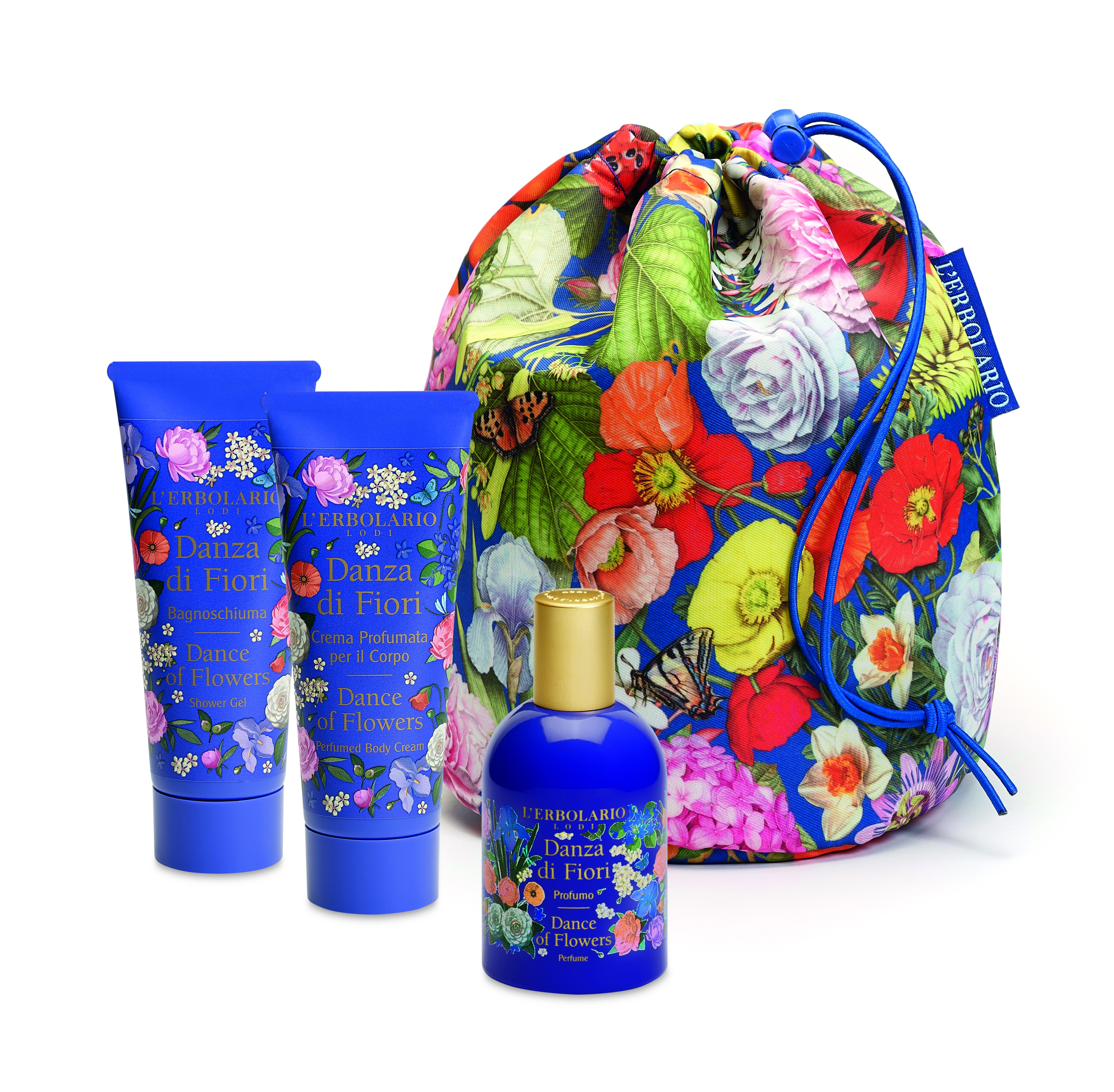 Beauty Bag Trio Danza di Fiori
