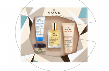 Το τέλειο δώρο για τις γιορτές: Nuxe σετ προϊόντων ομορφιάς!