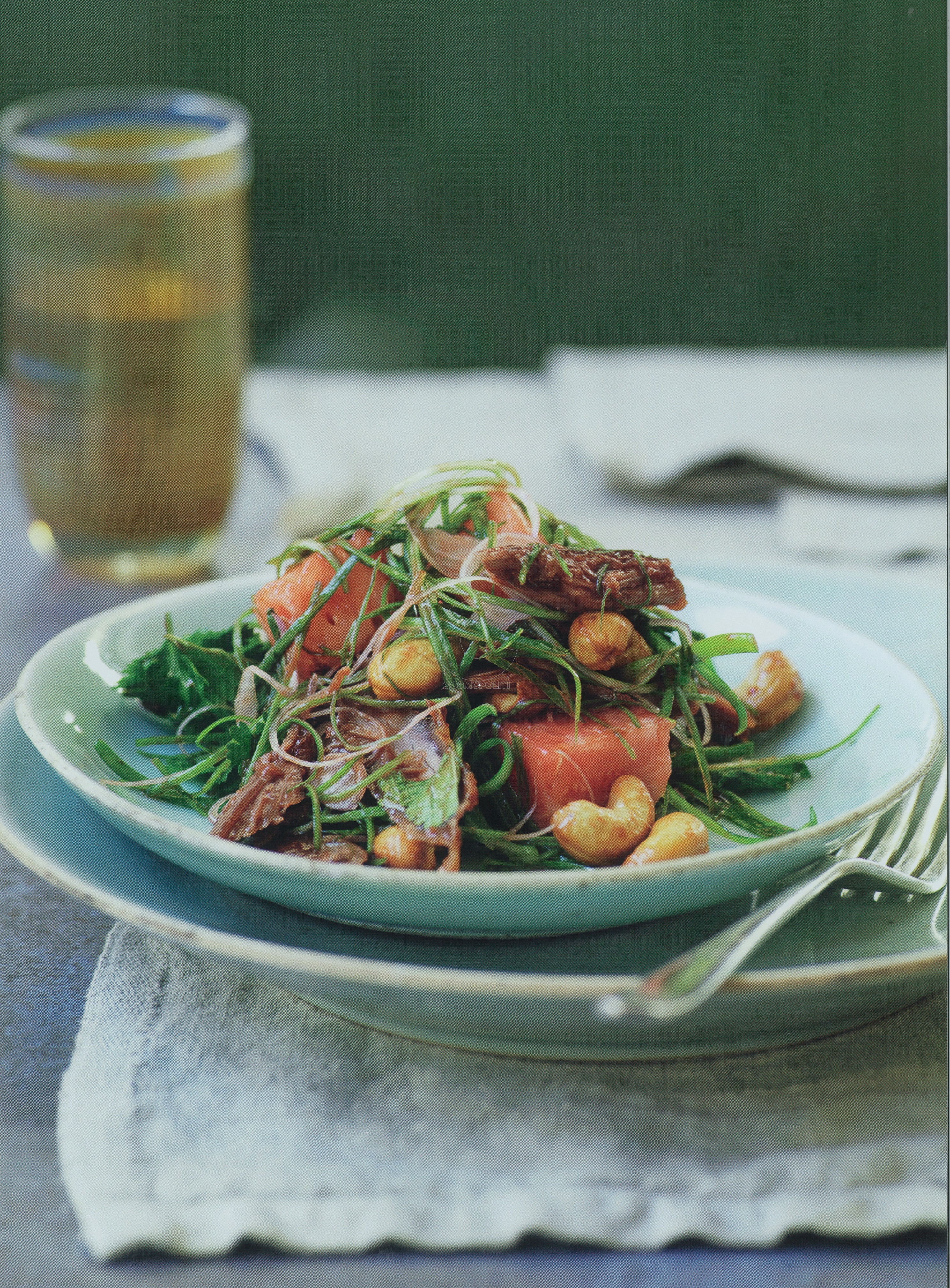 DUCK WATERMELON AND CASHEW SALAD