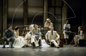 """""""Ο Βυσσινόκηπος"""" σε σκηνοθεσία Κωνσταντίνου Μαρκουλάκη στο θέατρο Χορν"""