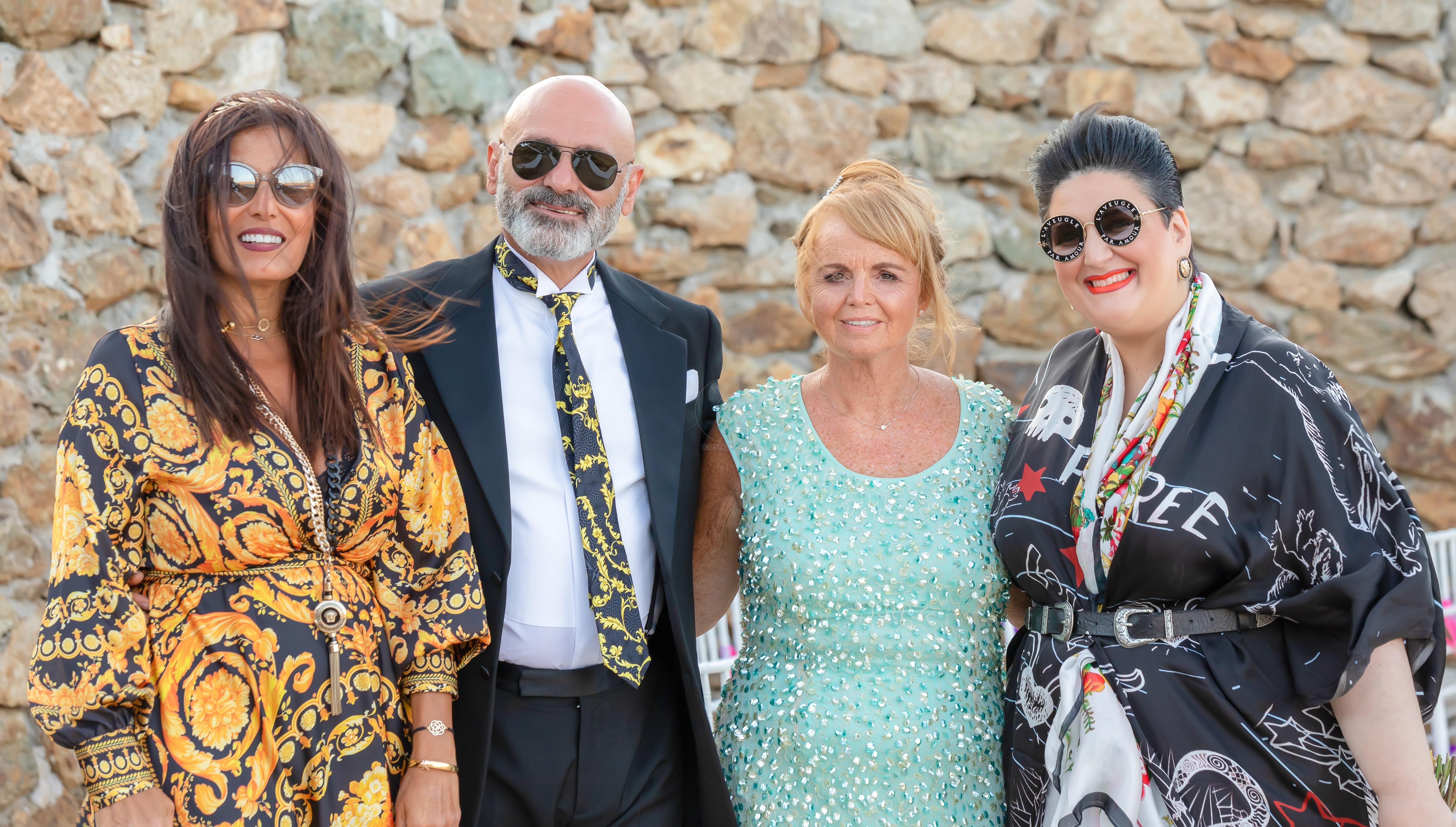 Mr Versace - Mrs Rogdaki - Mykonos wedding