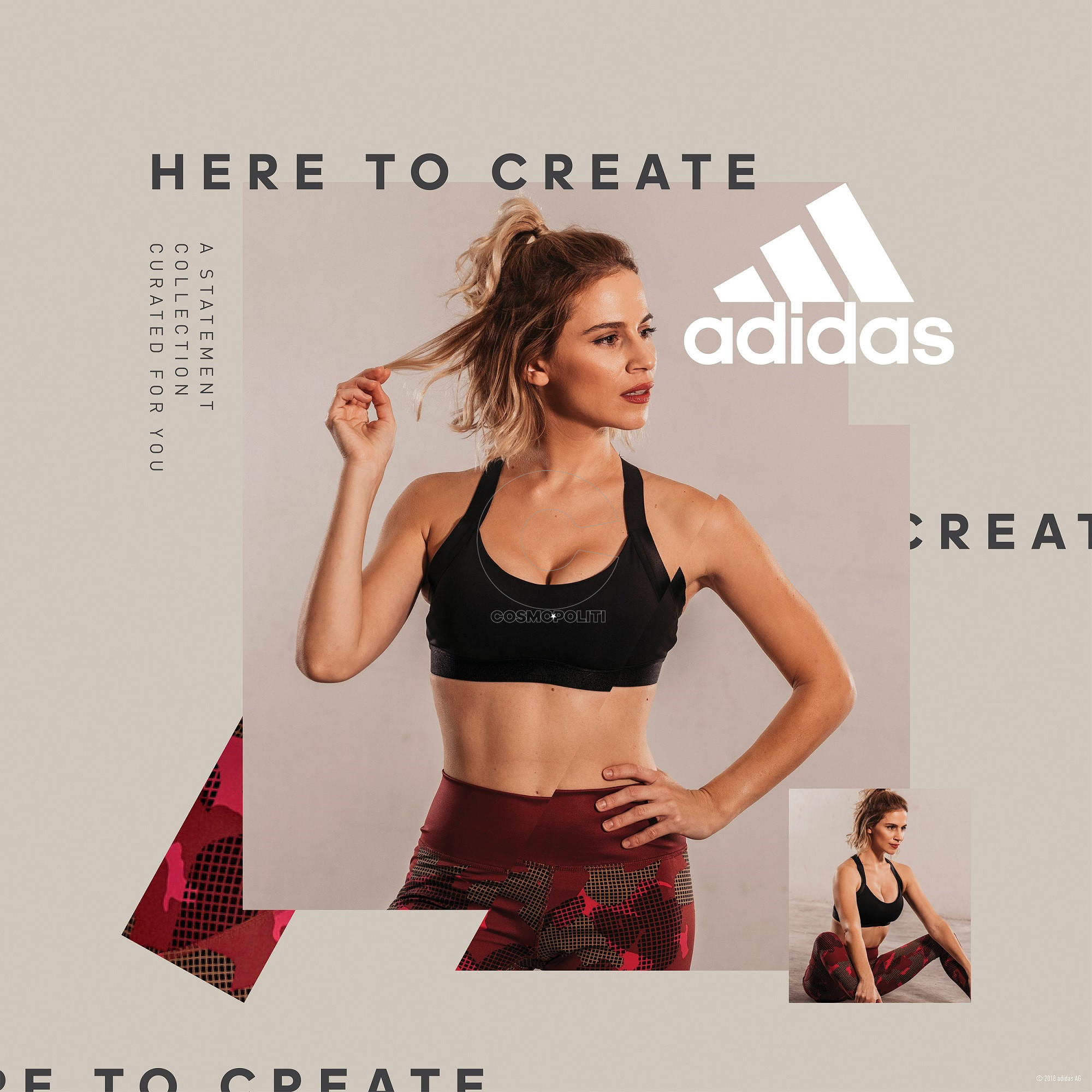 ad61e0d12d7 Η νέα limited-edition Statement Collection των adidas Women ...