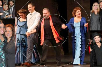 "Eπίσημη πρεμιέρα για τις ""Μάγισσες της Σμύρνης"" στο Παλλάς: Συγχαρητήρια και πάρτι επιτυχίας στο Zonars"