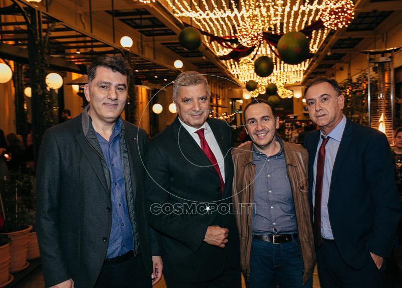 Γιώργος Δημόπουλος, Γιώργος Πατούλης, Σπύρος Πανάς, Χρήστος Κέλλας. (Copy)