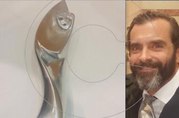 "Kωνσταντίνος Μαρκουλάκης: 3ο Βραβείο Σκηνοθεσίας για το ""Φάρο"" στα Βραβεία Κοινού Αθηνόραμα 2018"