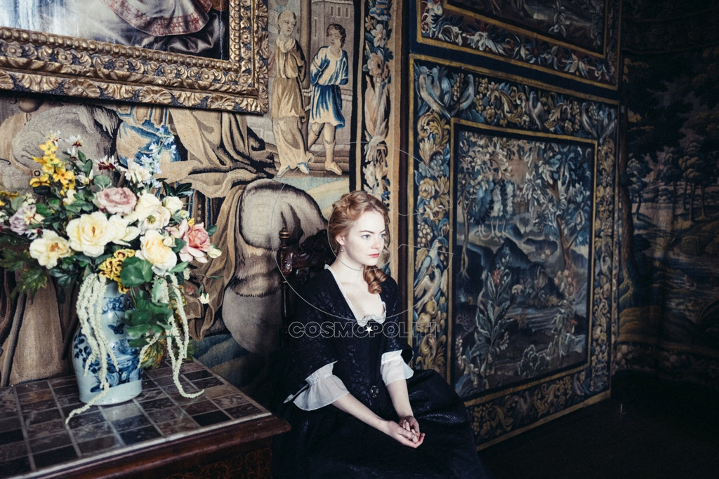 "Emma Stone stars in Fox Searchlight Pictures' ""THE FAVOURITE."""