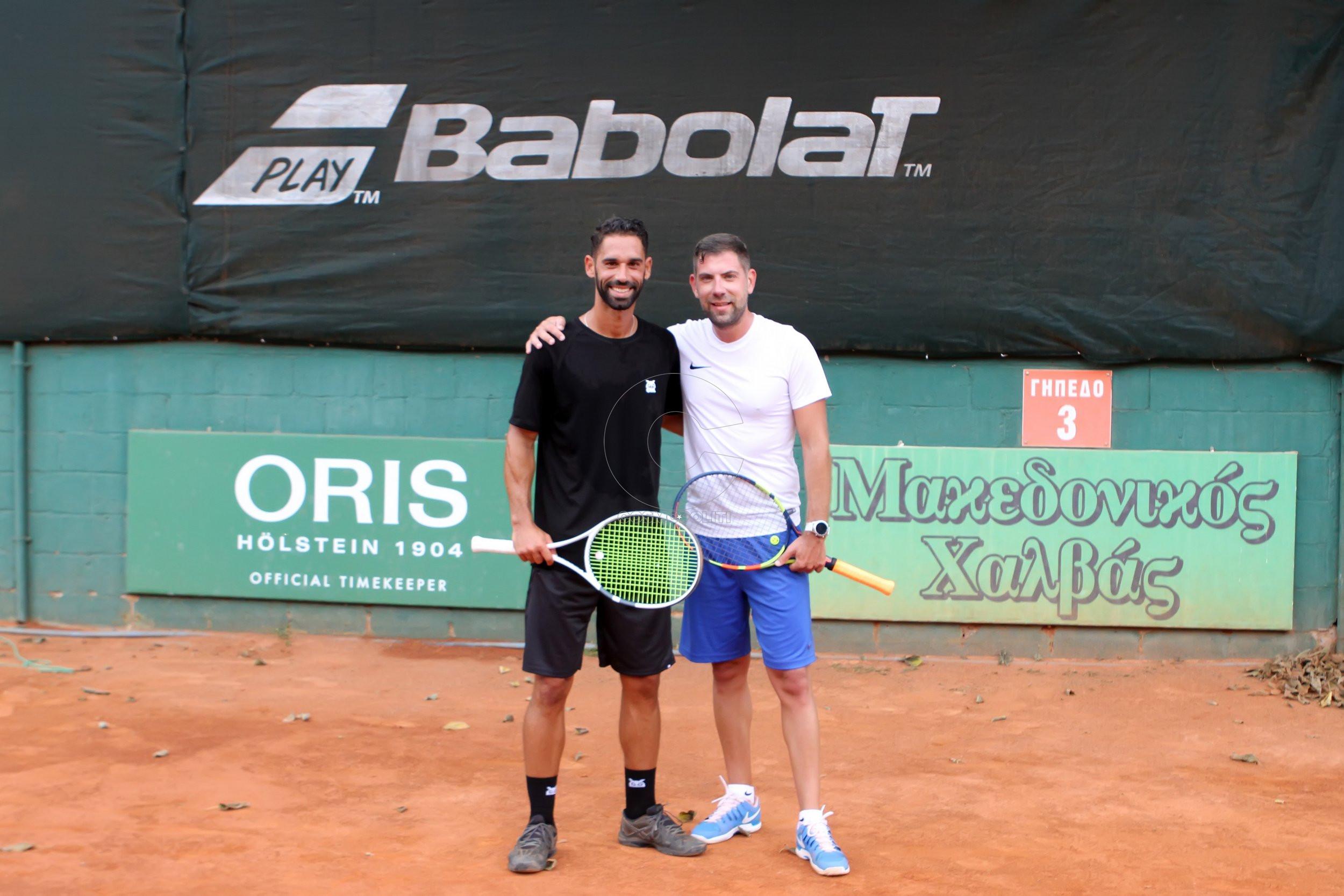 2 Οι αθλητές Αλέξανδρος Κρυστάλλης & Δημήτρης Γκάσιος