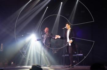 Σάκης Ρουβάς & Στέλιος Ρόκκος: εντυπωσιακή πρεμιέρα στο FIX Night Club