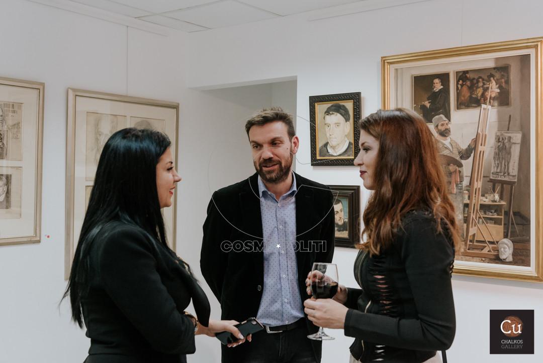 Νάνσυ Υαφαντίδου Κώστας Παρχαρίδης Τζελίνα Μακραντωνάκη