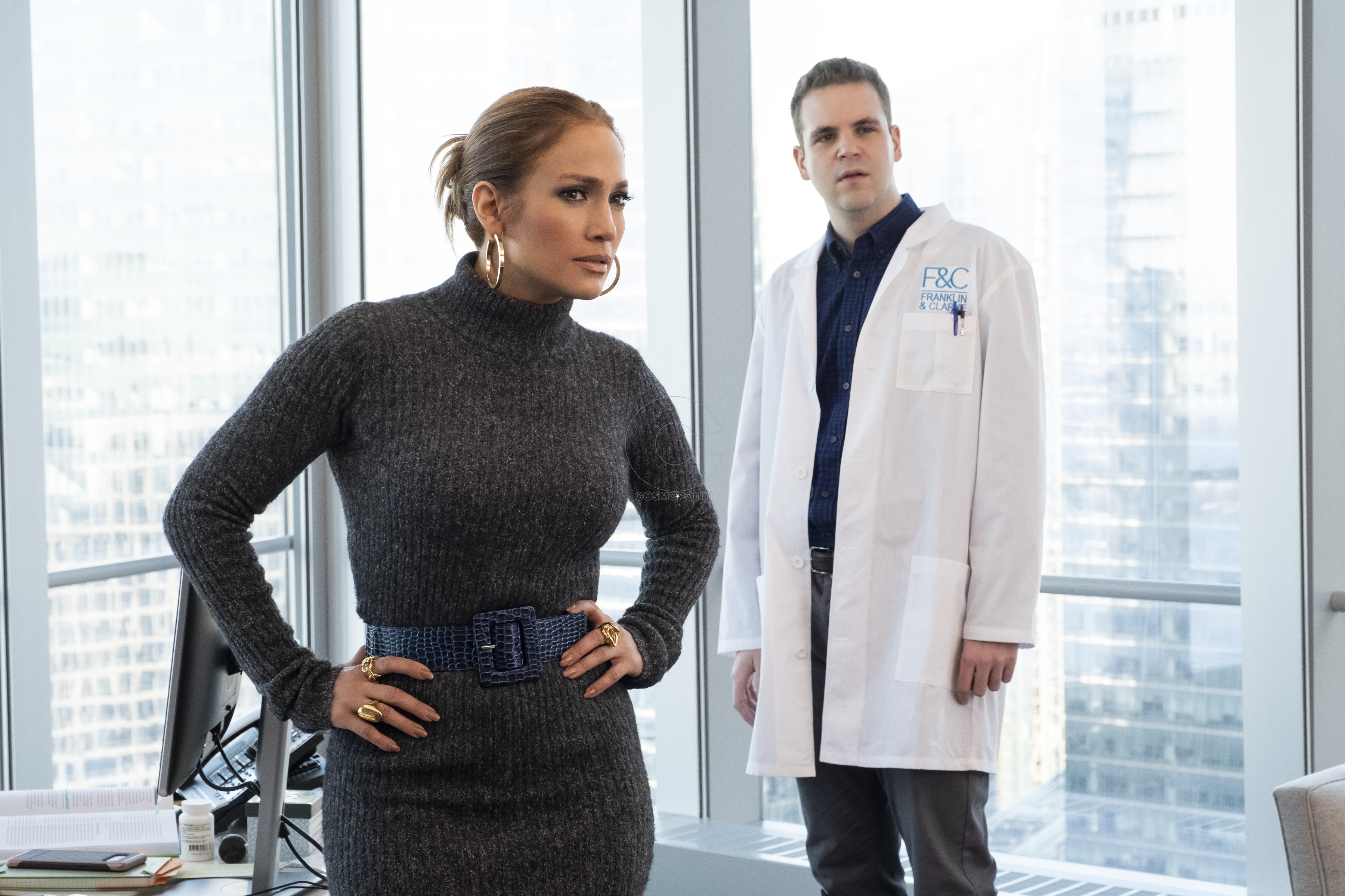 Jennifer Lopez and Alan Aisenberg star in SECOND ACT.