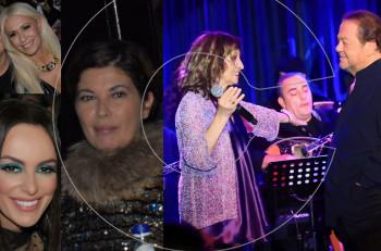 Συνάντηση αστεριών στο Baraonda Music Hall με τον Γιάννη Πάριο και την Γλυκερία