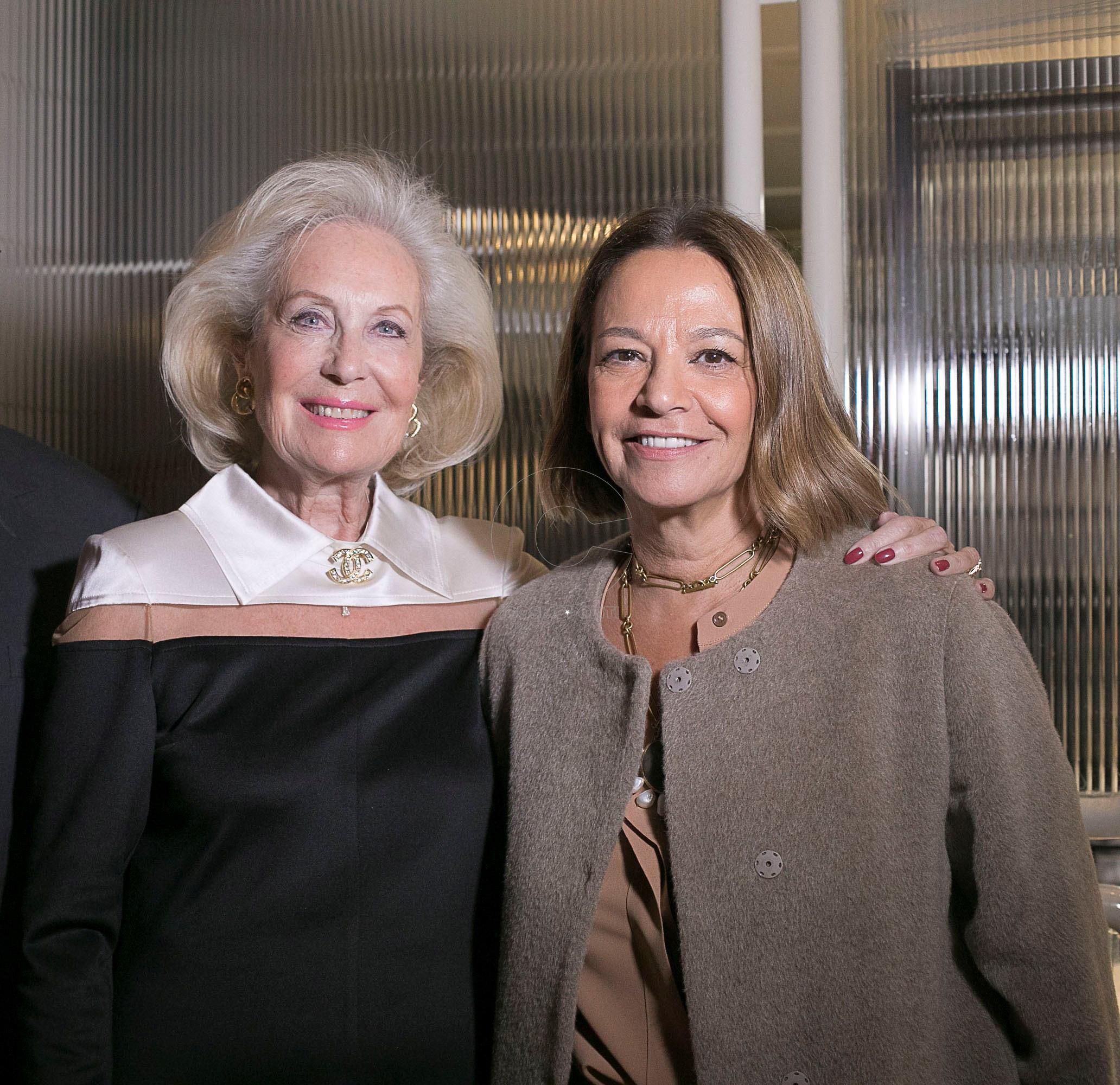 1 Η Ηρώ Τζελέπογλου με την Αντιπρόεδρο της ΑΝΤΗΡΙΔΑΣ Ζωή Ψαρρά Παπαγεωργίου