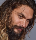 HOLLYWOOD, CA - NOVEMBER 13:  Actor Jason Momoa arrives at the premiere of Warner Bros. Pictures' 'Justice League' at Dolby Theatre on November 13, 2017 in Hollywood, California.  (Photo by Axelle/Bauer-Griffin/FilmMagic)