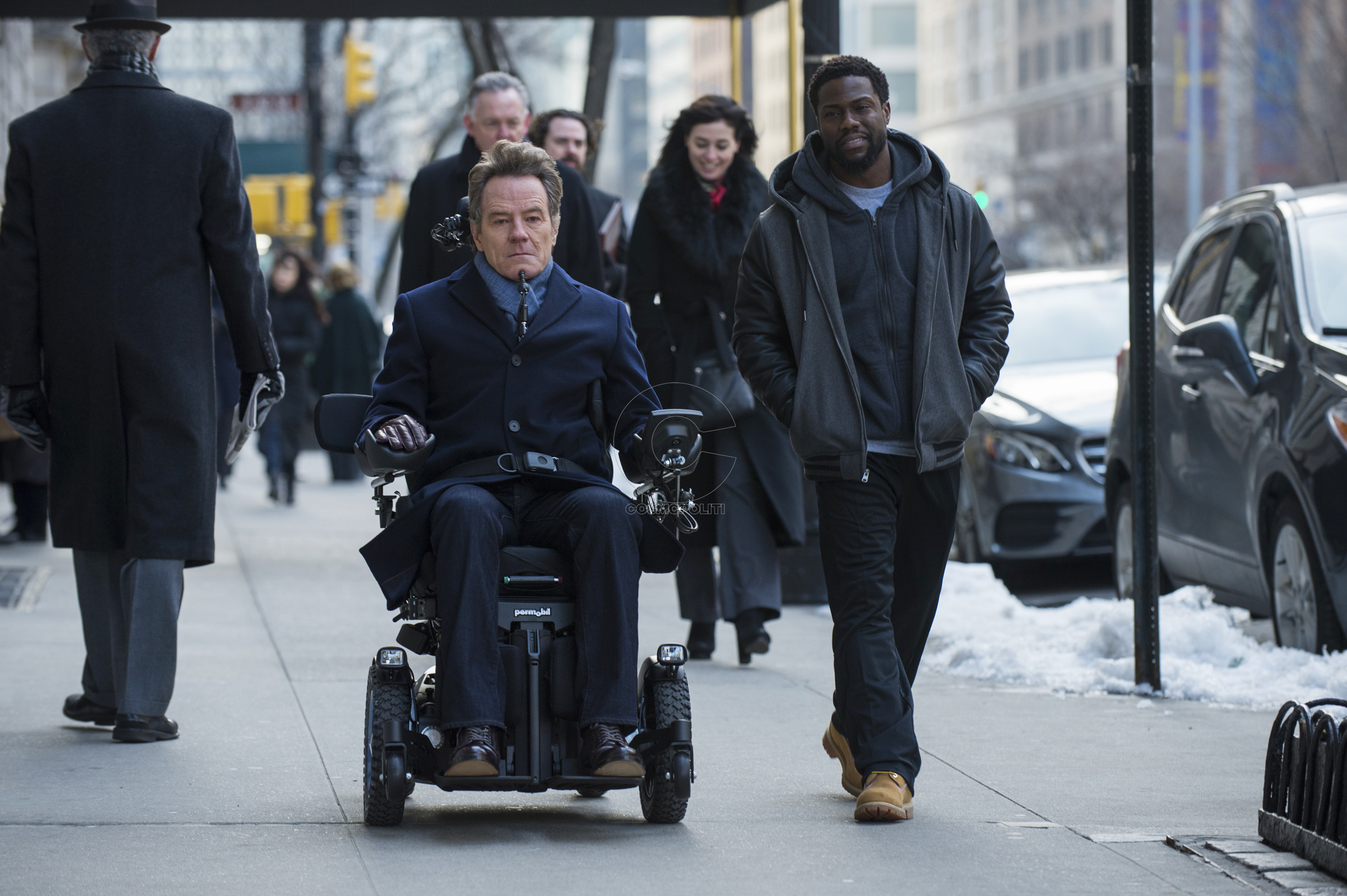 Bryan Cranston and Kevin Hart star in THE UPSIDE David Lee/Photographer